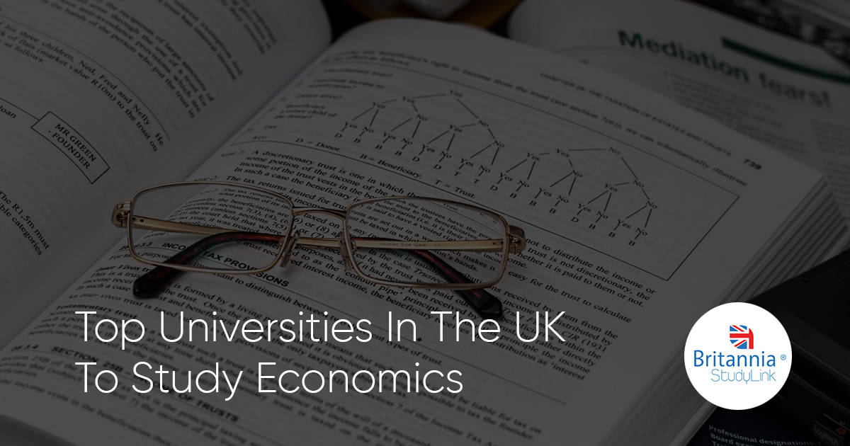 top uk universities economics