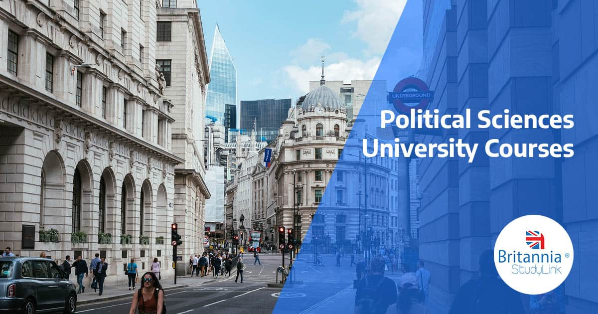 political sciences courses uk