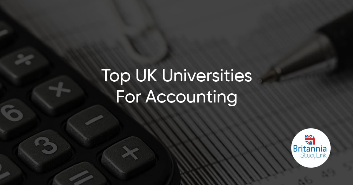 top uk universities accounting