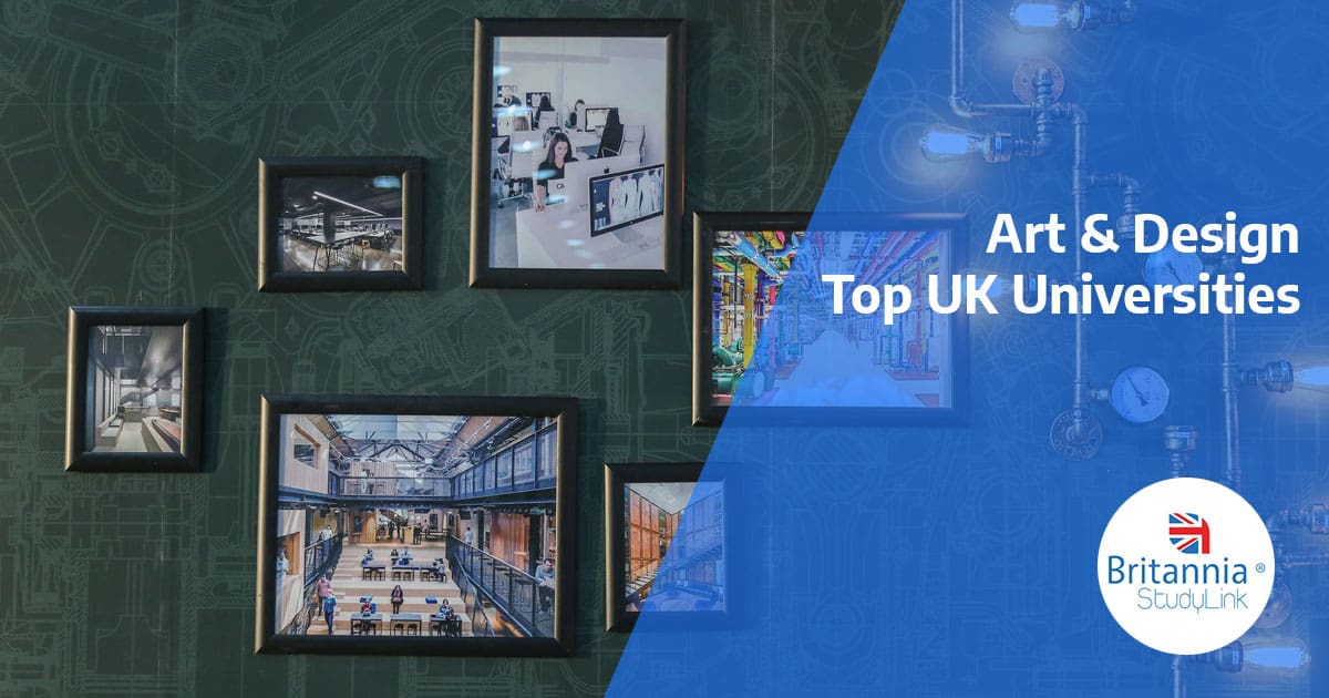 top uk university art and design