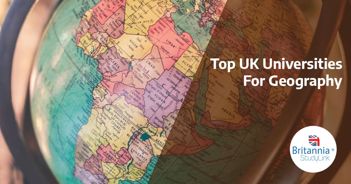 top uk universities geography