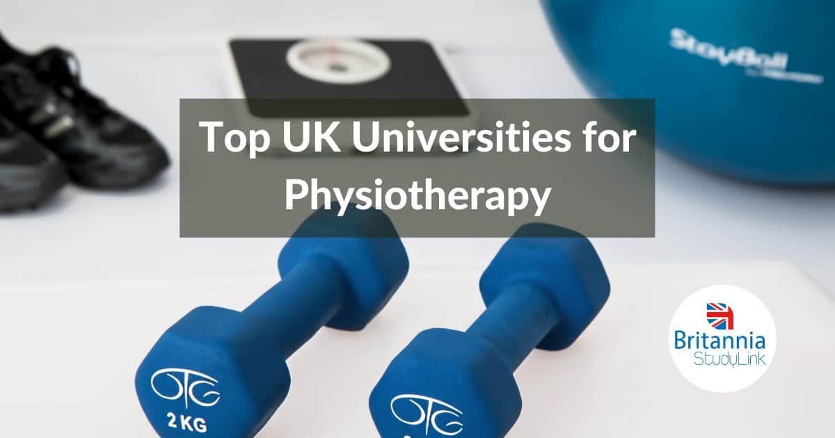 Top UK Universities Physiotherapy