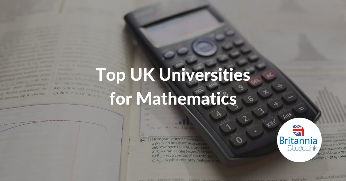 top uk universities mathematics