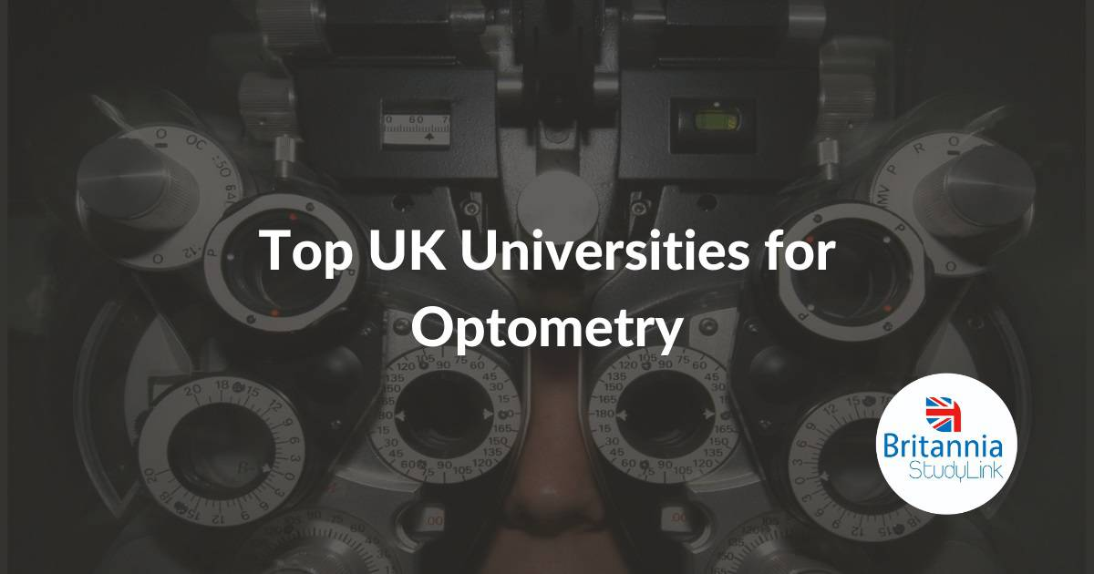 Top UK Universities for optometry
