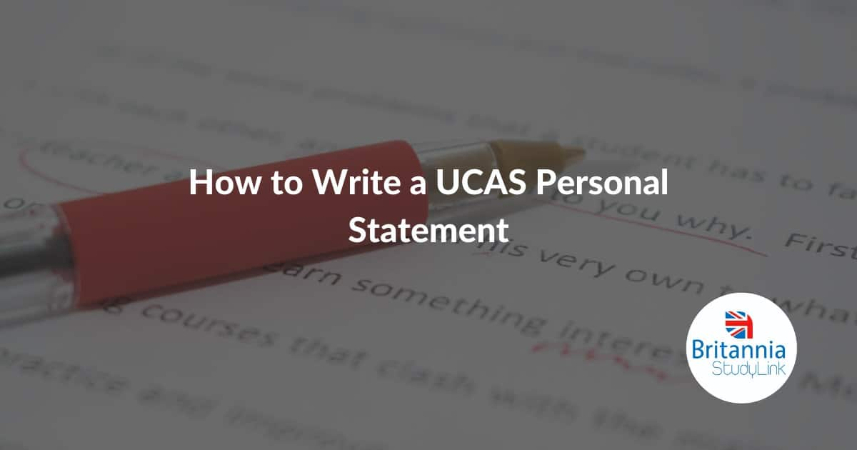 How to Write a UCAS Personal Statement