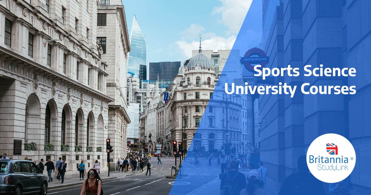 sports science courses uk
