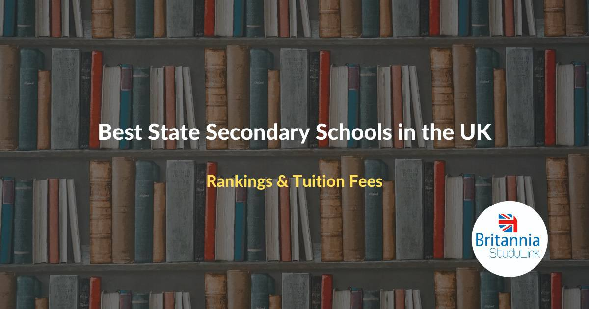 best state secondary schools in the uk
